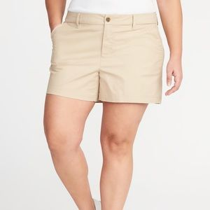 Old Navy Mid-Rise Everyday Khaki Twill Shorts